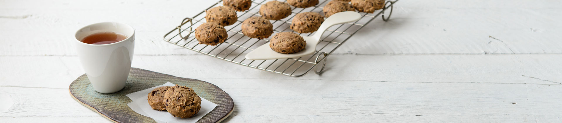 Teff Choc Chip Cookies
